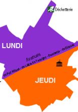 Modification du jour de collecte sur St-Maixent-l'Ecole