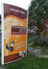 Changements des horaires des déchetteries de Ménigoute, Secondigny, Verruyes