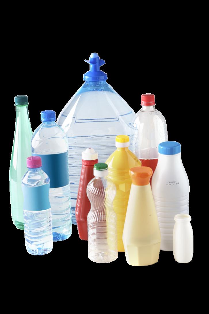 composition bouteilles alimentaires