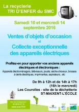 Collecte exceptionnelle des DEEE à la Recyclerie !